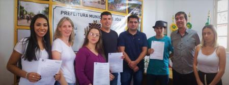 Administração realiza a posse de quatro candidatos