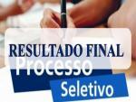 DIVULGAÇÃO DO RESULTADO FINAL DO PROCESSO SELETIVO PARA NUTRICIONISTA E VETERINÁRIO